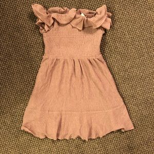 Pink mini dress, new with tags